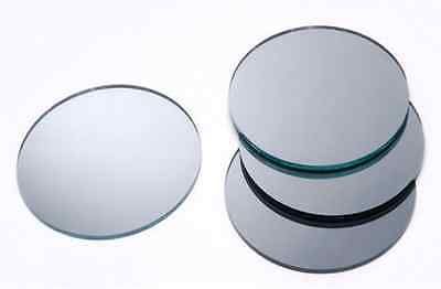 "Round 2"" Mini Mirror Can Be Used in Many Craft Projects & Mosaics - Pack of 4"