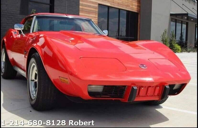 1976 Red Chevrolet Corvette   | C3 Corvette Photo 2