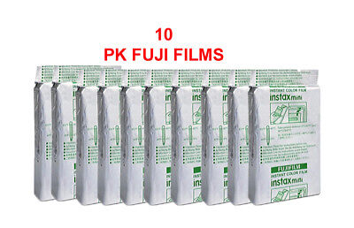 Fujifilm Instax Mini Film 10 PK EA. X 10= 100 FILMS EXP 12M+. 10% off!