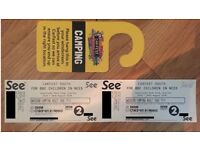 CarFest South Tickets (24-26/08/18) - Adult Weekend Camping Ticket - 2 Available