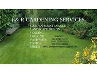 J & R Gardening Services