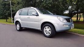 Ssangyong Rexton 2.7 TD S 5dr 165BHP LOW MILEAGE + FULL SERVICE HISTORY