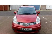 2008 Nissan Note 1.6 16v Tekna 5dr Automatic Fully HPI Clear @07445775115@