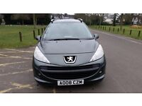 2008 Peugeot 207 SW 1.6 HDi S 5dr (a/c) Full service History HPI Clear 1F Keeper @07445775115@