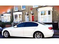 60'REG BMW 520d M SPORT, 80K MILES, FULL SERVICE HISTORY, WIDESCREEN IDRIVE, HPI CLEAR, F10 msport