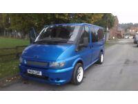 ford transit torneo full mot 3 6 9 seat minibus full bodykit painted arden blue