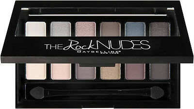 MAYBELLINE New York THE ROCK NUDES 12 Eye Shadow Colors Palette NEW AND SEALED