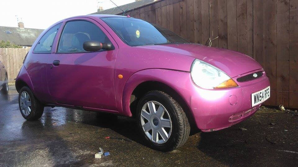Ford Ka Pink
