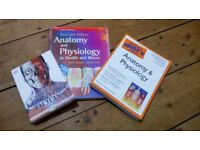 X3 Anatomy and Physiology Text books - Medical/Nursing Students
