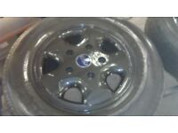 ford transit alloy wheels as new tyres