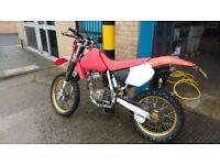 Honda xr 400 cc enduro road legal mx dirt bike