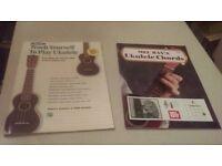 Ukulele music books x 2
