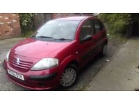 Quick sale - CITROEN C3 1. 4 Petrol Desire - short MOT - ONLY £280 -