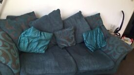 2&3 seater sofa need gone tonight due to been let down and new one getting collected tomorrow!!
