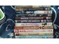Bundle of 11 DVDs