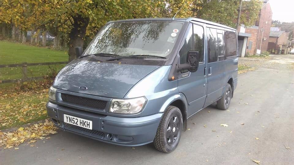 ford transit torneo 8 seat minibus full mot low miles