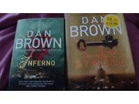 2 Dan Brown Books