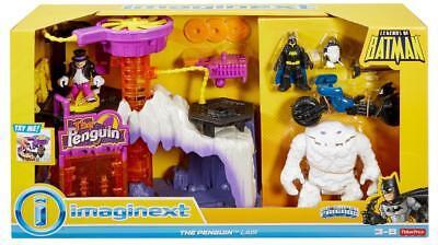 Fisher-Price Imaginext DC Super Friends Legends of Batman The Penguin Lair Plays