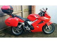 2004 Honda Vfr800 ABS, 22k Miles, FSH, Luggage, Heated Grips