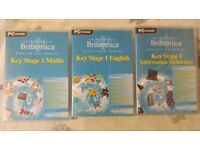 PC : Britannica Key Stage 1: English, Math, IT Video Games