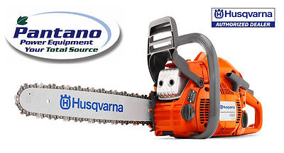 "New HUSQVARNA 450 20"" 50.2cc 3.2Hp Gas Powered Chain Saw Chainsaw on Rummage"