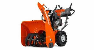 New Husqvarna Snowblowers