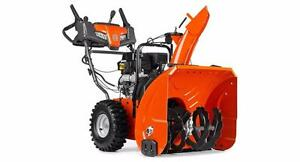 Husqvarna Snowblowers in stock and ready to go, starting at $1,099.99 + Tax - Free delivery to most locations*