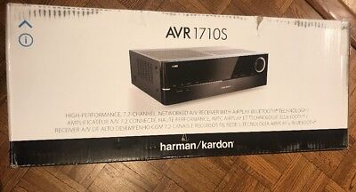 Harman Kardon 7.2-Channel Network Bluetooth Home Audio Receiver Hdmi AVR 1710S