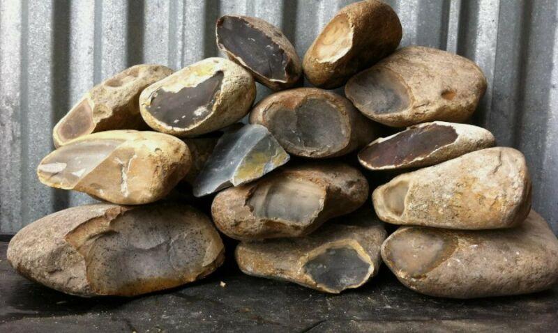 22 Lbs Texas Primo Thin Chert Flint Knapping Flintknapping Material Arrowheads