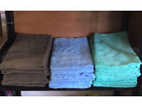 Edgeless microfibre cloths