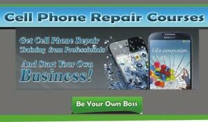 Cellphones Repair Course, Fix your phone, phone repair training, Learn how to repair phones, 3 days course with certific