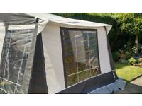 Deluxe Dorema motorhome tent/awning. Free delivery to your home.