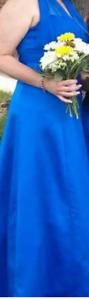Beautiful Royal Blue long dress