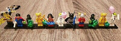 LEGO DC MINIFIGURES LOT OF 11 FIGURES 71026 - FLASH/SUPERMAN/JOKER/WONDER WOMAN