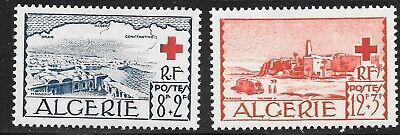 Algeria (1952) - Scott # B67 - B68,   MNH
