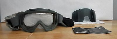 U.S. Military ESS Land Ops Striker Series Goggles Foliage Green Unit Issue Kit
