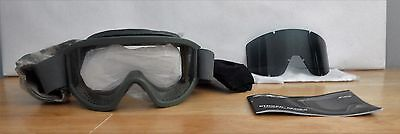 ESS Land Ops Striker Series Goggles Foliage Green Unit Issue Kit NEW
