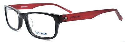 CONVERSE Q009 UF Men's Eyeglasses Frames 51-17-140 Black / Red + (Red Eyeglass Frames For Men)