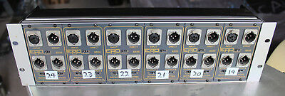 6x emo e335 microphone splitters  in rack kit