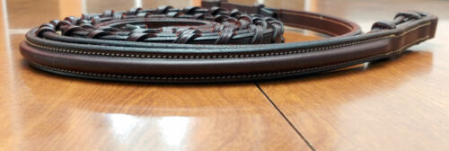 """Edgewood, New, raised laced reins, 54"""" for bridle"""