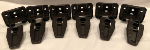 Kenlin (6 Case Runners & 6 Drawer Sockets) Plastic Glides ---  FAST SHIPPING!!!
