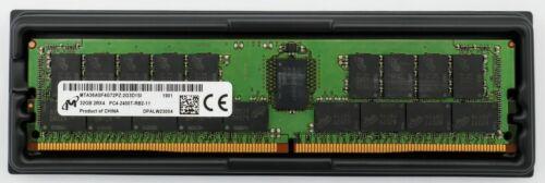 Micron 32GB DDR4 2400MHz SERVER ECC Registered RDIMM RAM MTA36ASF4G72PZ-2G3D1