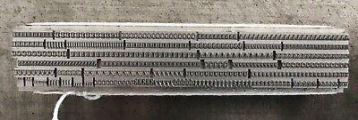 New Letterpress Type - 10pt. Bembo Small Caps