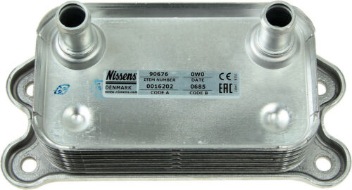 1 year WARRANTY Porsche Boxster /'97-/'08 Engine Oil Cooler NISSENS