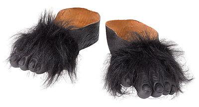 Schuhüberzieher NEU - Zubehör Accessoire Karneval Fasching (Gorilla Füße)