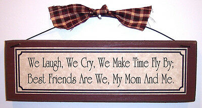BEST FRIEND MOM poem Mother's Day gifts signs & plaques Gift Ideas for (Best Friend Day Ideas)