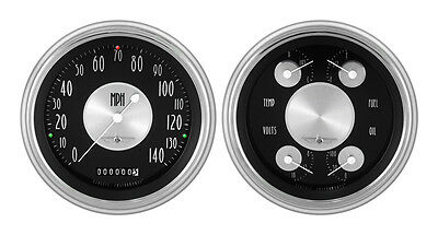 Classic Instruments 51-52 Chevy Car Package w/ All American Tradition Gauges