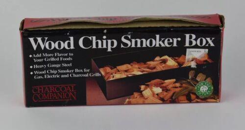 steel wood chip smoker box gas electric