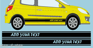 CUSTOM-STRIPES-GRAPHICS-DECALS-STICKERS-TO-FIT-FORD-ADD-YOUR-OWN-TEXT-SN022