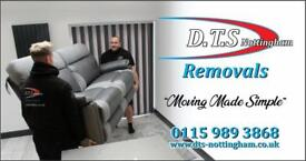 Removals, Nottingham removals, East Midlands removals, Man with a van, Removal men, Removal company